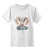 """Детская футболка классическая унисекс """"парни"""" - арт"""