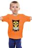 """Детская футболка классическая унисекс """"Миньон - Росомаха"""" - росомаха, супергерой, миньон, гадкий я, wolverine, minion, marvel comics"""