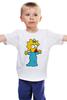 """Детская футболка классическая унисекс """"Мэгги """" - симпсоны, the simpsons, мэгги симпсон"""