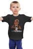"""Детская футболка классическая унисекс """"Альф и котенок"""" - котенок, alf, альф, внеземная форма жизни"""