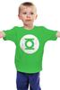 """Детская футболка """"Зелёный Фонарь"""" - the big bang theory, супергерои, шелдон купер, зеленый фонарь, green lantern, футболки шелдона"""