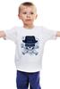 "Детская футболка ""Breaking Bad (Во все тяжкие)"" - во все тяжкие, breaking bad, уолтер уайт, heisenberg, хайзенберг"