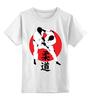 """Детская футболка классическая унисекс """"Дзюдо Judo Бросок Япония"""" - japan, борьба, дзюдо, восточные боевые искусства, judo"""