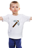 "Детская футболка классическая унисекс ""Minecraft - Кирка"" - minecraft, майнкрафт"