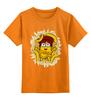 """Детская футболка классическая унисекс """"Миньон (Banana)"""" - бананы, миньон, гадкий я, minion"""