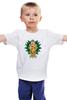 """Детская футболка классическая унисекс """"My Little Pony - герб AppleJack (ЭпплДжек)"""" - pony, mlp, пони, герб, эпплджек"""