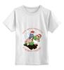 """Детская футболка классическая унисекс """"New year"""" - новый год"""