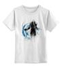 """Детская футболка классическая унисекс """"Ангел смерти"""" - игры, diablo 3, ангел смерти, диабло 3, death angel"""