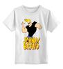 """Детская футболка классическая унисекс """"Johnny Bravo"""" - сериал, мульт, johnny bravo, джонни браво"""