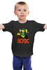 """Детская футболка классическая унисекс """"Мужская ac dc"""" - ас дс, acdc"""
