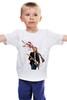 "Детская футболка ""Kurt Cobain "" - nirvana, рок, kurt cobain, курт кобейн, нирвана"