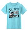 """Детская футболка классическая унисекс """"Freddie Mercury - Queen"""" - freddie mercury, queen, rock music, куин, фредди меркьюри"""