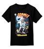 """Детская футболка классическая унисекс """"Червяк Джим (Earthworm Jim)"""" - sega, червяк джим, earthworm jim"""