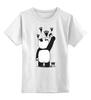 """Детская футболка классическая унисекс """"Панда вандал"""" - wwf, вандал, животные, панда, panda"""