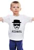"Детская футболка классическая унисекс ""Heisenberg"" - во все тяжкие, драма, breaking bad, гейзенберг, walter white"