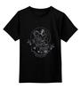 """Детская футболка классическая унисекс """"Ye Olde Magick Shoppe в мистически-черном"""" - ктулху, магия, лавкрафт, умный фан-арт, аркхэм"""