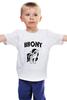 "Детская футболка классическая унисекс ""BRONY Rainbow Dash 2"" - my, pony, rainbow, dash, brony, little"