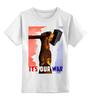 """Детская футболка классическая унисекс """"молот"""" - арт, авторские майки, рука, патриотизм, флаг, молот, рабочий, серп, битва"""