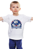 """Детская футболка классическая унисекс """"Зефирный Человек (Охотники за Привидениями)"""" - охотники за привидениями, ghostbusters, зефирный человек"""