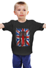 "Детская футболка ""10th флаг UK (Доктор Кто)"" - doctor who, bbc, флаг, uk, доктор кто"