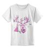 """Детская футболка классическая унисекс """"Хипстер олень """" - арт, стиль, олень, хипстер, deer"""