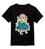 """Детская футболка классическая унисекс """"Дед Мороз (Santa)"""" - новый год, new year, дед мороз, нг, santa"""
