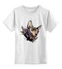 """Детская футболка классическая унисекс """"Mr. Cox"""" - кот, cat, сфинкс, tm kiseleva"""