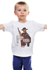 """Детская футболка классическая унисекс """"Per un Pugno di Dollari"""" - кино, вестерн, clint eastwood, клинт иствуд, kinoart"""