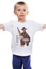 "Детская футболка ""Per un Pugno di Dollari"" - кино, вестерн, clint eastwood, клинт иствуд, kinoart"