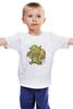 """Детская футболка """"Гоблин (Clash of Сlans)"""" - столкновение кланов, гоблин, goblin, clash of сlans"""