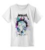 """Детская футболка классическая унисекс """"Metallica"""" - heavy metal, metallica, хеви-метал, джеймс хетфилд"""