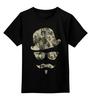 """Детская футболка классическая унисекс """"Хипстер"""" - 23 февраля, армия, хипстер, усы, камуфляж"""