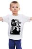 """Детская футболка классическая унисекс """"Who's your daddy"""" - star wars, darth vader, звездные войны, dart vader, who's your daddy, кто твой папочка"""
