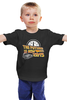 """Детская футболка """"Будущее Сейчас 2015 (Назад в Будущее)"""" - назад в будущее, back to the future, delorian, делориан"""