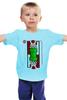 """Детская футболка классическая унисекс """"Гриб из Марио"""" - nintendo, марио, mario bros, грибочек"""