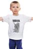 "Детская футболка классическая унисекс ""Kurt Cobain "" - grunge, гранж, nirvana, kurt cobain, курт кобейн"