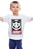 "Детская футболка классическая унисекс ""Марио (Mario)"" - obey, mario, марио, jump"