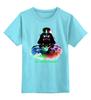 """Детская футболка классическая унисекс """"Дарт Вейдер """" - star wars, darth vader, звездные войны, дарт вейдер"""