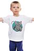 """Детская футболка """"Сфинкс"""" - арт, котики, мими, сфинкс, nopperapon, sphynx"""