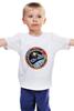 """Детская футболка классическая унисекс """"Союз-Аполлон"""" - space, ссср, usa, космос, nasa, наса, союз, аполлон, мужчинам, apollo"""