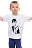 """Детская футболка классическая унисекс """"кино кино"""" - movie, audrey hepburn, hollywood, одри хепбёрн, голливуд"""