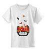 "Детская футболка классическая унисекс ""Гриб из Марио (Тетрис)"" - mario, марио, tetris, тетрис"