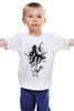 """Детская футболка классическая унисекс """"Октослон"""" - рисунок, слон, осьминог, мутация, октослон"""