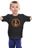 """Детская футболка """"Якорь"""" - море, якорь, sea, морская, морская пехота, sailor, моряк, морпех, морпехи, пехота"""