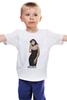 """Детская футболка классическая унисекс """"Monica Bellucci """" - девушки, ню, моника беллуччи, monica bellucci, kinoart"""