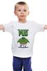 """Детская футболка классическая унисекс """"Невероятный Мопс"""" - pug, hulk, мопс, халк, невероятный мопс"""