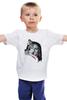 """Детская футболка классическая унисекс """"Sansa Stark and Ledi"""" - арт, волк, wolf, игра престолов, game of thrones"""
