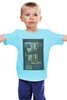 "Детская футболка ""Once Upon a Time in America / Однажды в Америке"" - ny, америка, гангстеры, kinoart, де ниро"