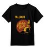 """Детская футболка классическая унисекс """"Fallout (Nuka Cola)"""" - кола, fallout, nuka cola, ядер-кола, нюка-кола"""