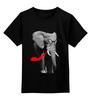 """Детская футболка классическая унисекс """"Классный Слон"""" - африка, слон, слоник, elephant, африканский слон"""